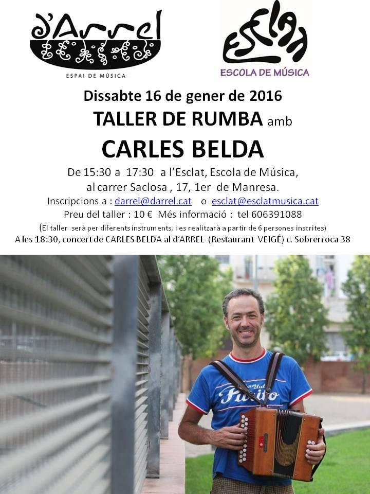 taller Carles Belda, gener 2016