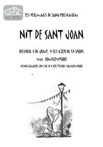 Cartell SAMI st Joan amb dibuix