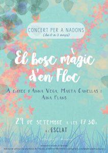 cartell el bosc màgic nadons