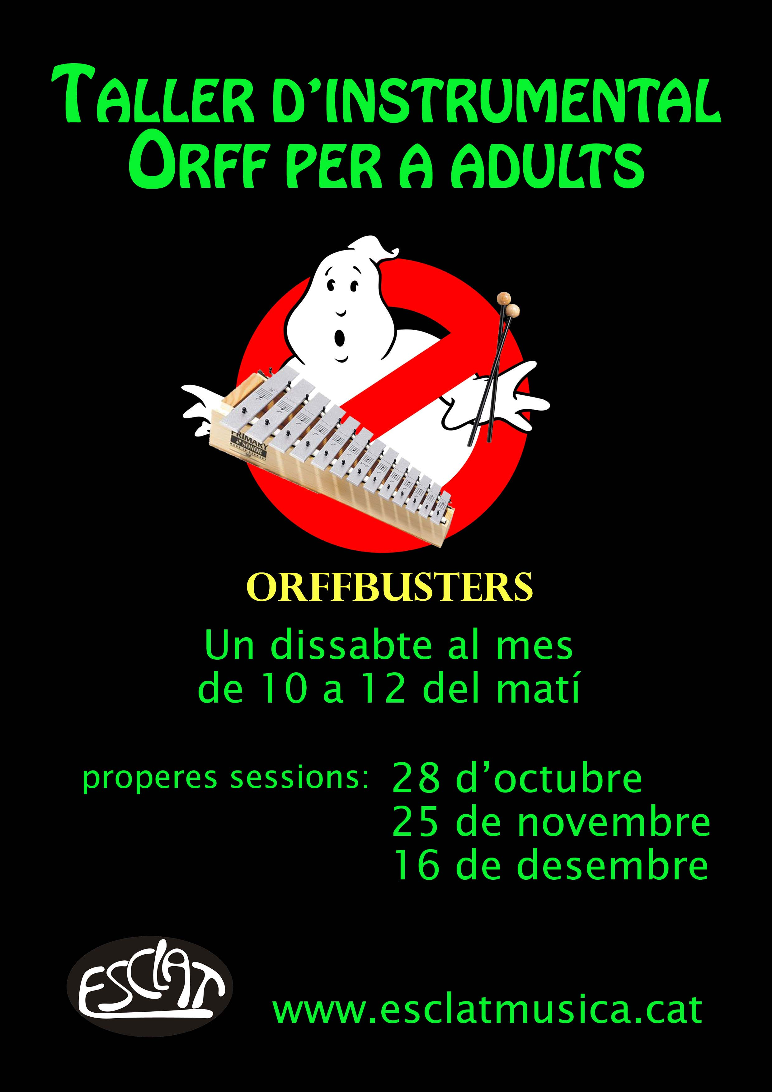 cartell orffbusters 1r trimestre 17-18