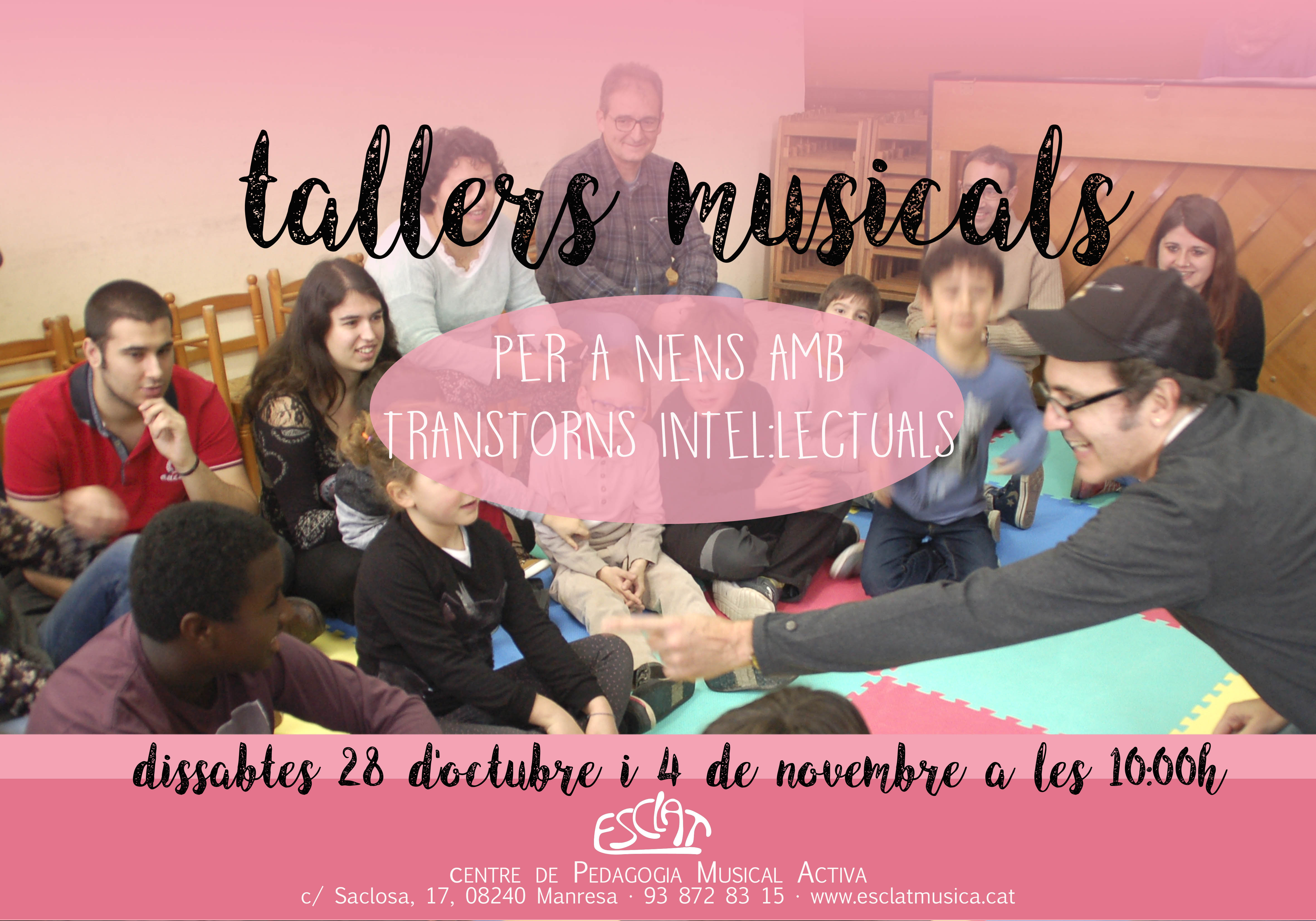 tallers musicals discapacitats