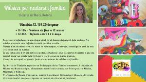 Música en família amb Mercè Redorta @ Esclat, escola de música | Manresa | Catalunya | Espanya