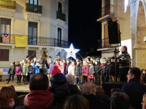 Cantada de nadales pel Príncep Assuan @ Plaça Major de Manresa